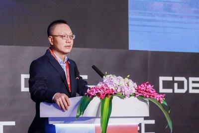 El Dr.RobertH. Xiao, director ejecutivo de Perfect World, pronuncia discurso de apertura en el CDEC el 29 de julio. (PRNewsfoto/Perfect World)